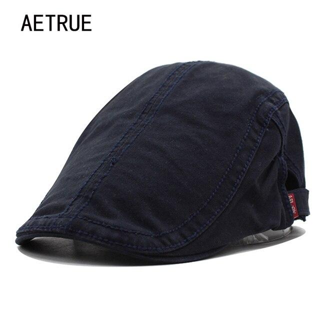 Nuevas viseras hombres Beret sombrero plano mujeres casquette algodón  sombreros de invierno para hombres viseras llanura 929563437e9