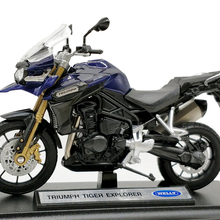 Welly 1:18 Triumph Tiger Explorer Diecast Motorcycle