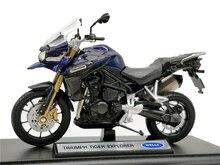 Welly 1:18 Triumph Tiger Explorer Diecast Motosiklet