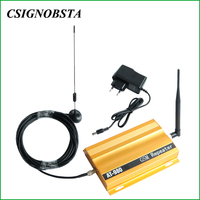 New 900MHz GSM Booster High Quality GSM900 Cellular Signal Booster Repeater 2G Mobile Phone Amplifier with Gold Color Wholesale