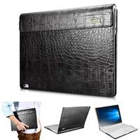 Crocodile Cowhide Genuine Leather Case for Microsoft Surface Book Flip Business Real Leather Smart Cover for Surface Book 13.5