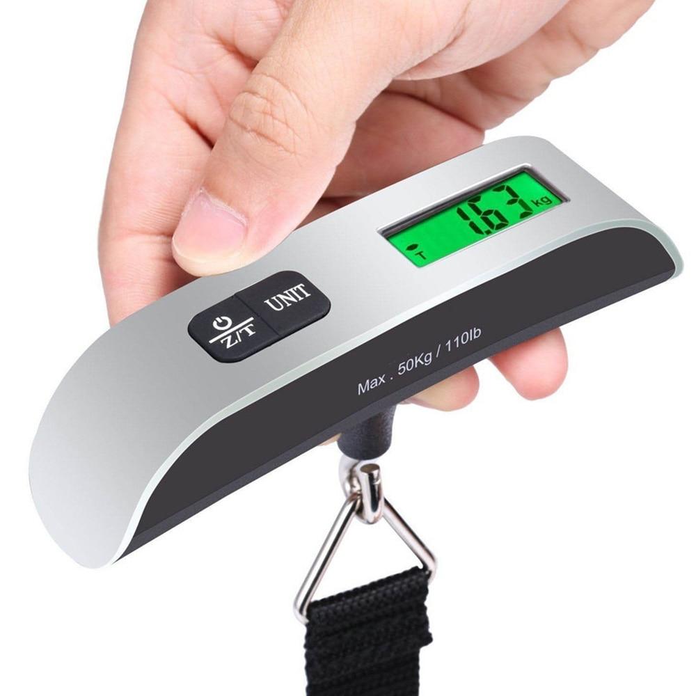 ЖК-цифровые весы Дорожный чемодан электронные весы прочные домашние Висячие весы портативные спальные принадлежности