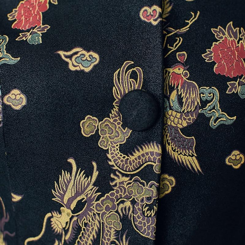 Automne vent Chinois Survêtement En Cuir Peau Et Véritable Photo Manteau Hiver Mouton Femelle De Rétro Color Femmes Coupe Veste Long rrwpqT