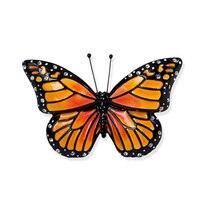 Fashion Handmade Enamel Butterfly Brooches Pins Collar Lapel Animal Rhinestone Brooch Bridal Wedding Jewelry Valentine Gift