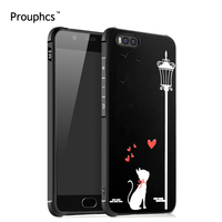 Xiaomi Mi6 Case 3D Stereo Relief Painting Case For Xiaomi Mi6 5 15 Inch Full Protective