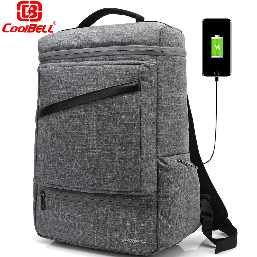 Multi-functional Large Capacity Backpack USB Charge Laptop Bag 15.6 15 Inch Backpack Notebook Bag Women Men Business Travel Bags