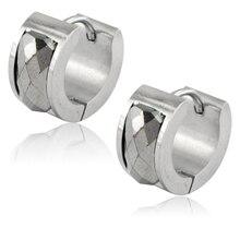 Высокое качество пользовательских мода ювелирные изделия сырье уха клип с циркон серьги фарфоровый завод