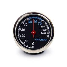 Mini Car Automobile Digital Clock Auto Watch Automotive Thermometer Hygrometer Decoration Ornament In Car-Styling