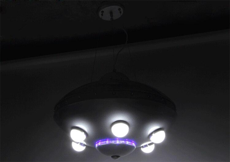 UFO ինքնաթիռի ջահ մանկական սենյակների - Ներքին լուսավորություն - Լուսանկար 5