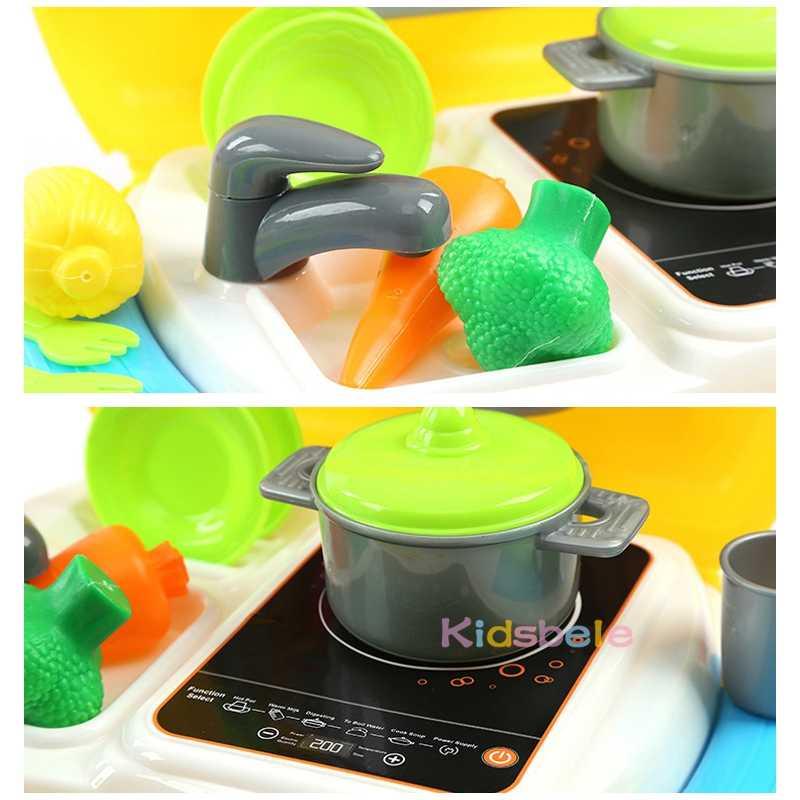 Zabawki kuchenne dla dzieci zestaw Mini udawaj zagraj w zestaw do gotowania plastikowa patelnia do gotowania Simalation Cooker klasyczna gra dla dzieci najlepszy prezent dla dziecka