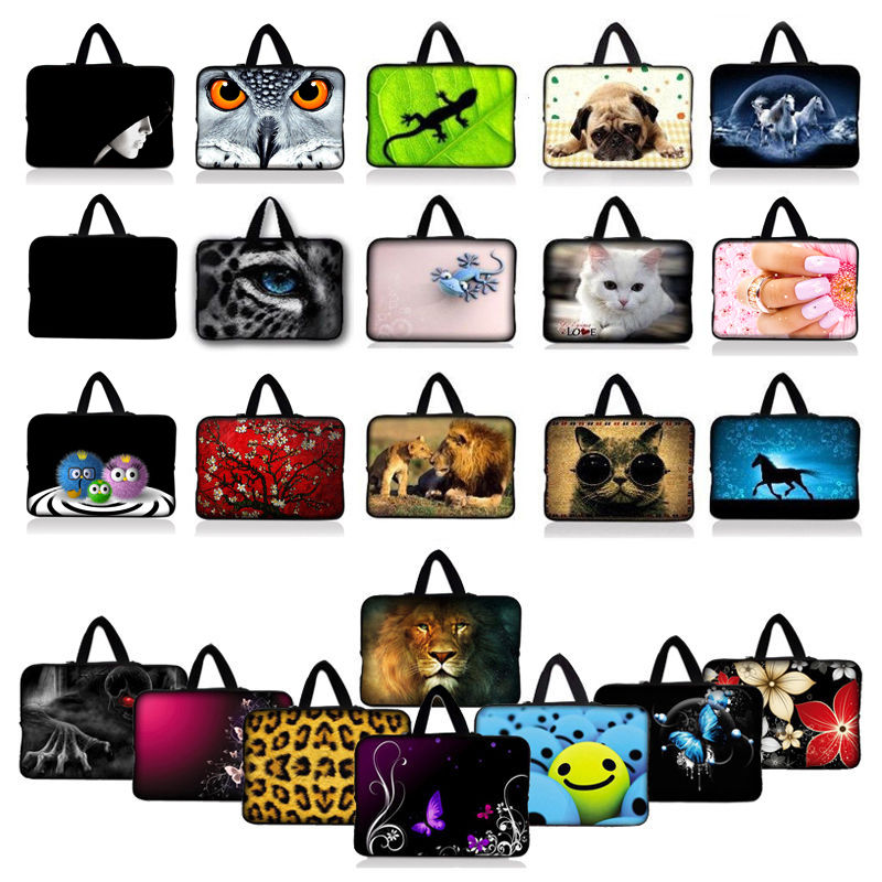 """17 inch Notebook Laptop Carry Sleeve Case Bag Pouch Holder Protector Handbag For 16"""" 17"""" 17.3"""" 17.4"""" HP Dell Acer MSI Laptop"""