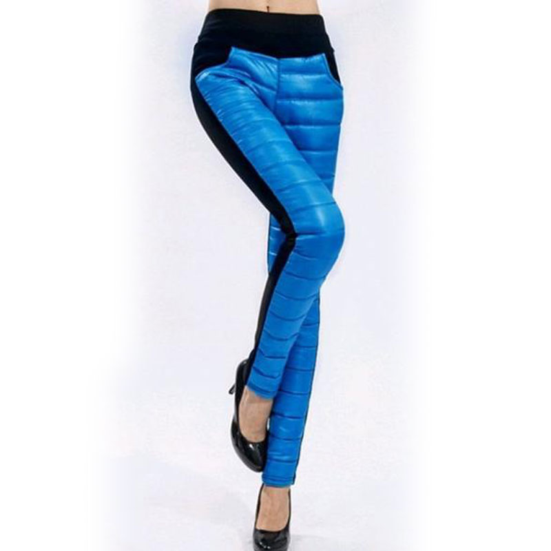 Velvet women Leggings 6 Candy Colors Thick Thermal Workout ...