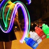 100 stks Vinger Licht Shiny Neon Stok Balken Led Ring Lichtgevende Speelgoed Glow Dance Shining Feestelijke Event Party Supply Decoratie