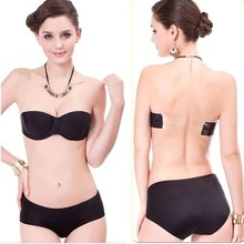 4c78afb7f18fb 2015 yyw  Sexy Bra One-Piece a Blade Strapless Tape Sujetador Invisible  Seamless Adhesive Brassiere Intimates Plus Size A B C D