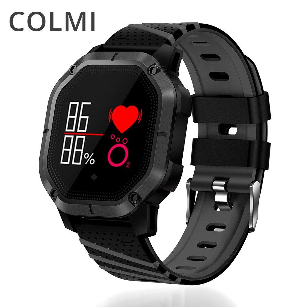 COLMI K5 Smart Watch IP68 Водонепроницаемый нескольких видов спорта режима Велоспорт плавание монитор сердечного ритма крови кислородом артериально...