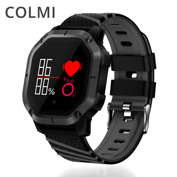 COLMI K5 Smart watch IP68 Waterproof Multiple Sports Modes Cycling Swimming Heart Rate Monitor Blood oxygen Blood pressure Clock e services logo