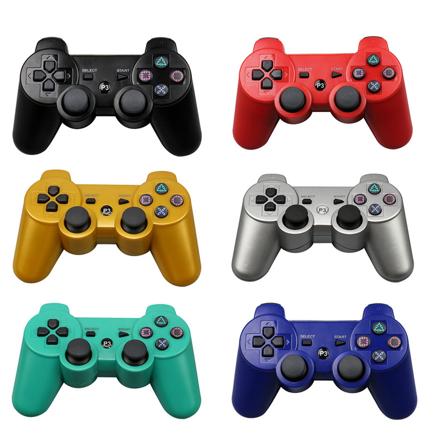 Bluetooth Wireless Gamepad Controller for Sony PS3 Gaming Remote Controller for Playstation 3 Double shock Dualshock Joystick 3cleader® wireless controller for ps3 playstation 3 camouflage 1