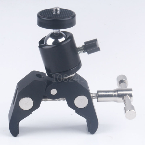 DSLR Camera Articulating Magic Arm Super Clamp Q29 Mini Tripod Ball Head Ballhead 1/4-3/8 screw For Canon 5DII Monitor LED Light