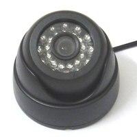 HD 1 3 700TVL Super SONY CCD IR Color CCTV Indoor Dome Security Camera 24 LEDs
