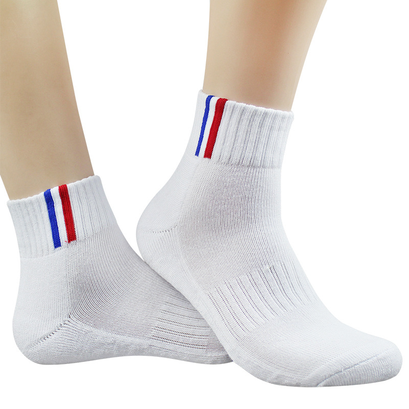 Super Elite Original Sport Sock Cotton Men Running Walking Damping Run Sock Cycling Terry Black White Hiking Cheap Funky Top Sox