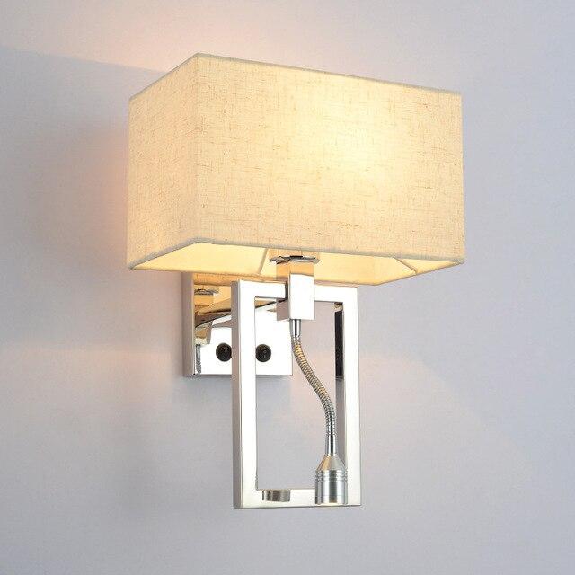 Genoeg Moderne Korte Bed Wandlampen 1 w Led Leeslamp Lamp Muur Bed Slang &DW09