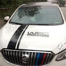 WRC Hood Sticker Stripe Car Covers Vinyl Racing Sports Decal Head Accessories General Purpose Vehicle Paste