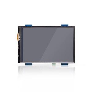 Image 3 - 3.5 pollici LCD HDMI USB Dello Schermo di Tocco Reale di HD 1920x1080 Display LCD per Raspberry 3/2/B +/B/A +