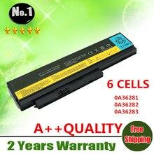 Al por mayor nueva 6 celdas de batería del ordenador portátil para thinkpad x220 x220i x220s series 0a36281 0a36282 0a36283 42t4861 42t4862 envío gratis