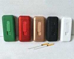 100 szt. Zapalniczka USB papierośnica na 20 szt. 100mm długości 5mm średnicy papierosów