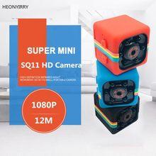 Sq11 мини-камера HD 1080P датчик ночного видения Видеокамера движения DVR микро камера Спорт DV видео маленькая камера SQ 11 SQ12 SQ13