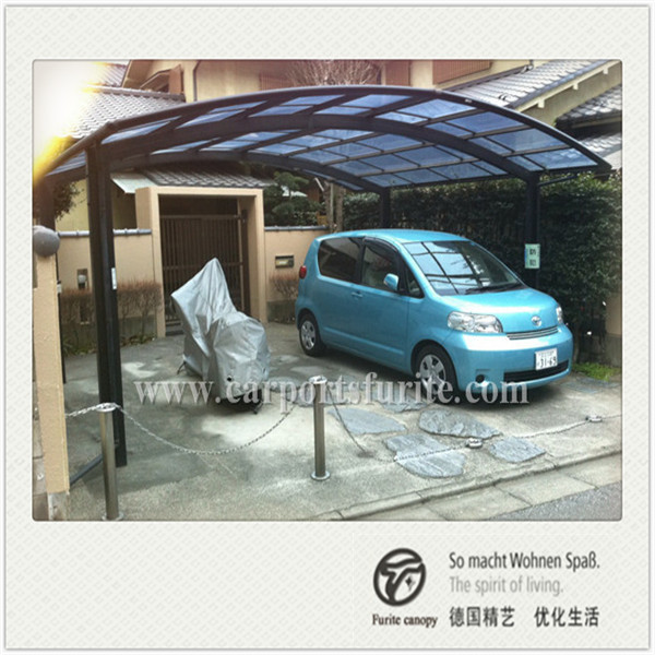 Carport Canopy Design Ideas Suitable For Your Home: Aluminum Double Carport And Aluminum Carport Canopy
