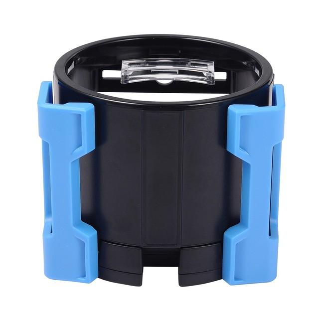 1 Unidades de Teléfono para Coche Soporte Air Vent Drink Holder Copa de Luz de Color Azul ABS organizador