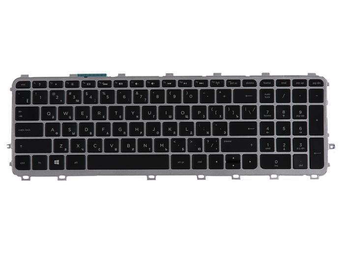 Keyboard [for HP Envy 15, for Envy 17] Black, Grey frame, Backlight [720244-251] horiz.. Enter for a11120700010