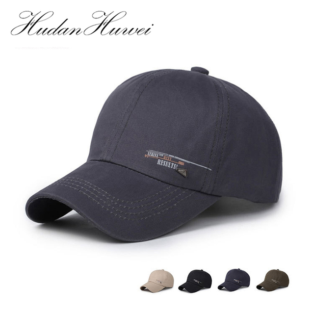 6c9231142cbc4 Spring Summer Dome Cap Men Baseball Cap Adjustable Casual Casquette Gorras  6 Panel Snapback Hats Manliness Sport Sunhat GH-85
