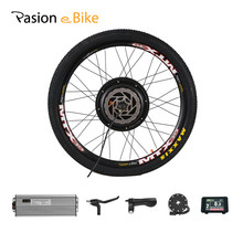 48V 1000W Electric Bike Conversion Kit 1000W Electric Motor Wheel MTB Electric Bicycle Rear Wheel Hub Motor e Bike Kits(China)