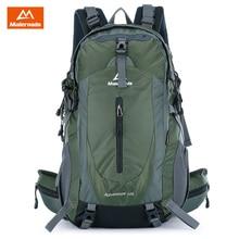 Maleroads 50L Outdoor Sports Backpack With Rain Cover Waterproof Nylon Hiking Camping Travel Luggage Bike Rucksack Bag Men Women