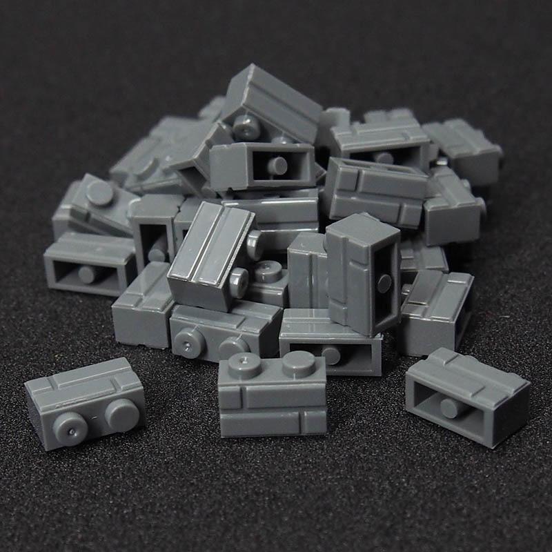 50Pcs MOC City Friend Figures building blocks wall DIY Blocks Baseplate Small Bricks Base Compatible lepines toys for children