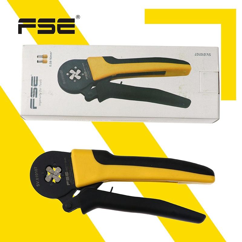 Купить с кэшбэком FSE Wire Cutter Crimping Tool Pliers Cable Tools Crimper Stripper Cutters Alicate Stripper Crimp Plier Set Crimpatrice SET