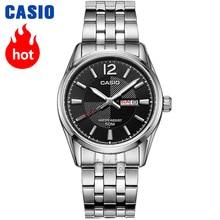 2531e1c2c428 Casio reloj Analogue reloj deportivo de cuarzo para hombre reloj de  negocios a la moda impermeable estudiante reloj MTP-1335D