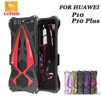 Original Luphie Aluminum Metal Supercar Style Shockproof Armor Case For Huawei P10 P10 Plus Phone Cases