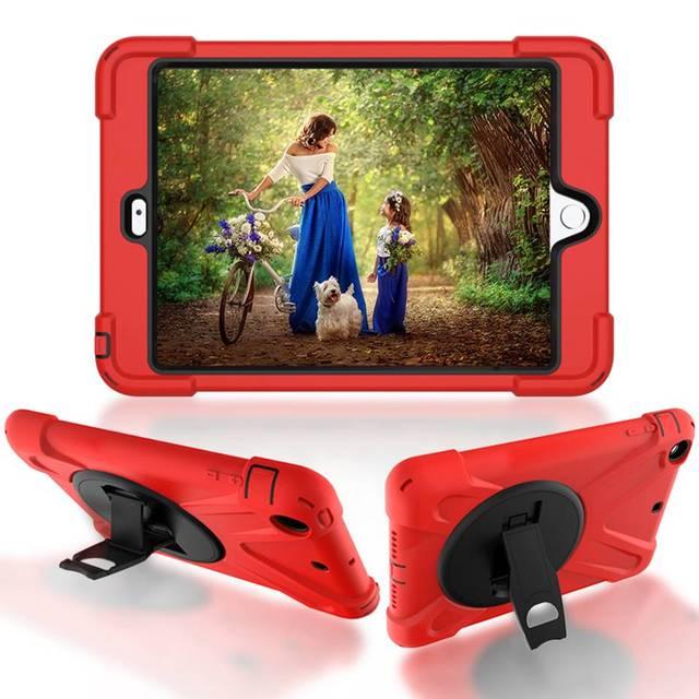 Funda para iPad mini 1 2 3 de mano a prueba de golpes funda de cuerpo entero con mango y soporte para carcasa de ipad mini capa funda