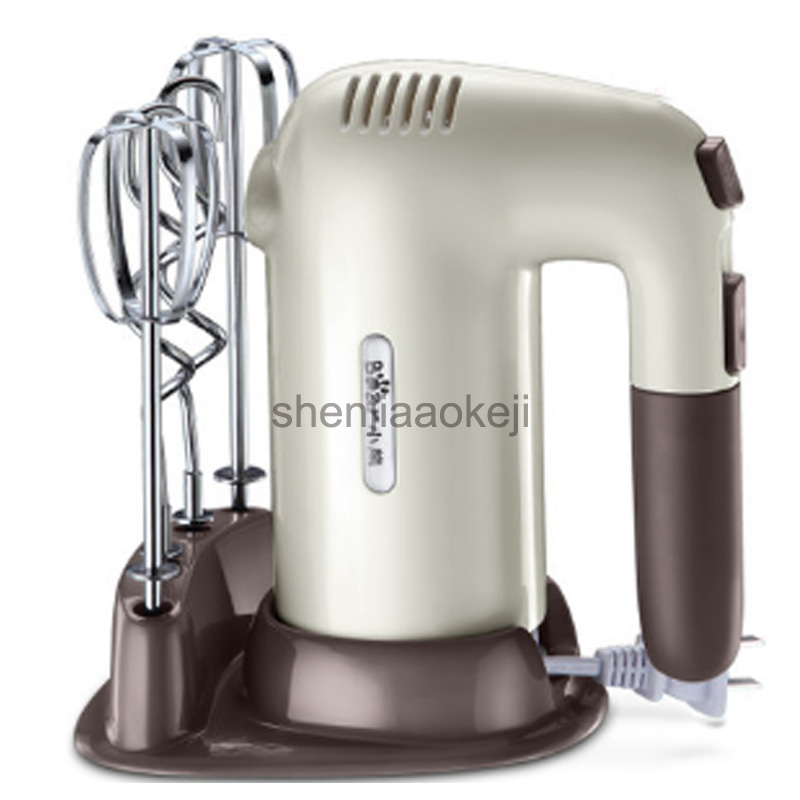 Electric Mixer Hand-held egg Whisk and Flour mixing Machine Mixer Cream Whipper Egg Beater 220v 200w1pc hand held pneumatic paint mixer stainless steel mixer blade ink mixer machine 5 gallons agitator pneumatic mixing