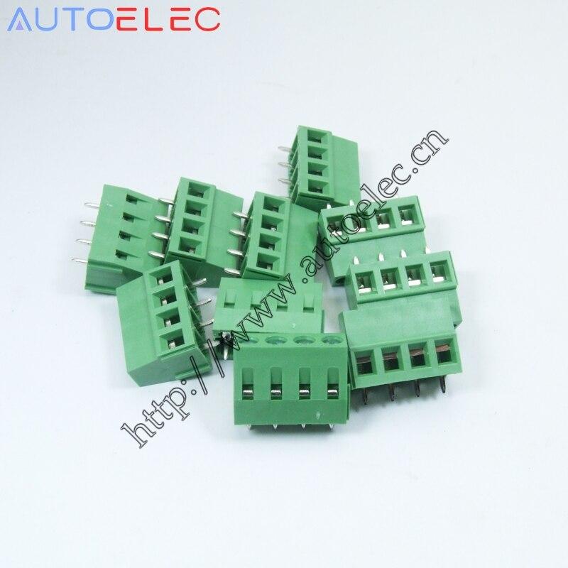 ▻PCB screwterminal bloque conector paso: 5mm/0.2 inch 4 Pasadores ...