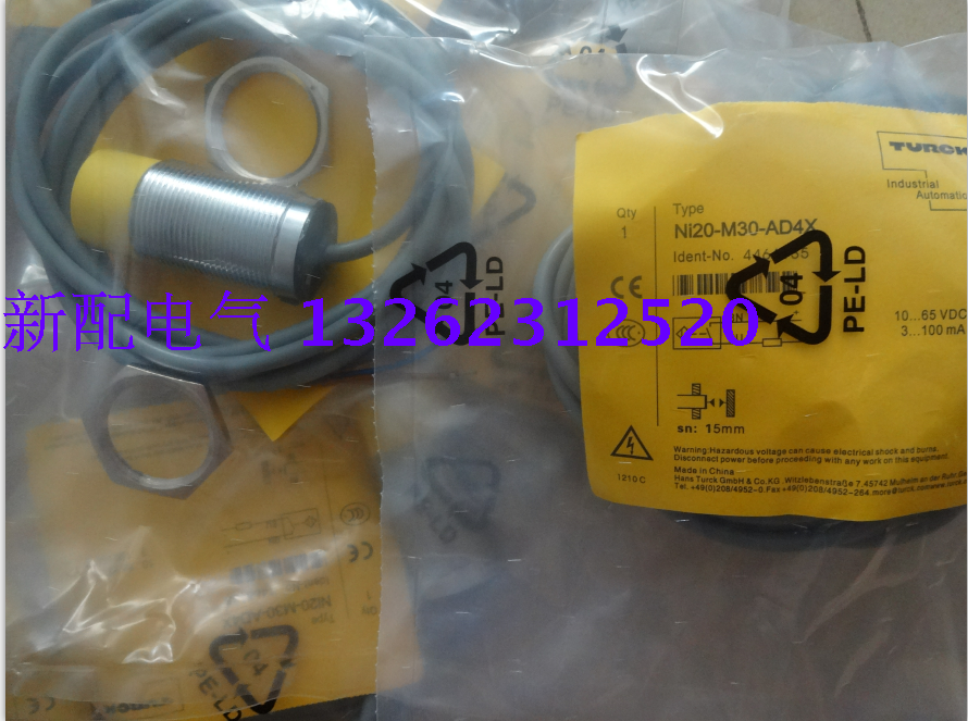NI20-M30-AD4X Turck  New High-Quality Proximity Switch Sensor NI20-M30-AD4X Turck  New High-Quality Proximity Switch Sensor
