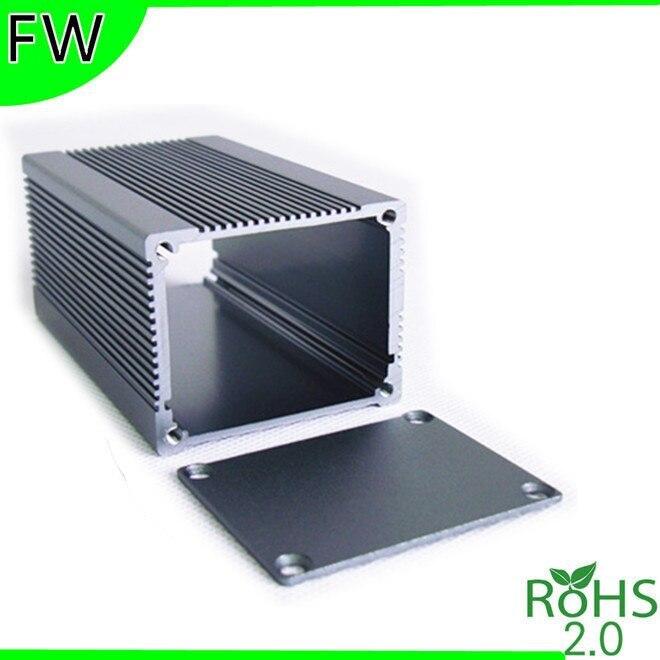 Grey Aluminum Project Box Enclosure DIY 69*27*100mm
