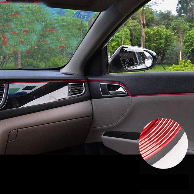 Car Styling Interior Trim Decoration Dashboard Vent Trim Soft Pvc For  Chevrolet Cruze Malibu Trax Sonic