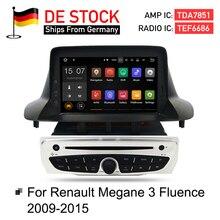7″ Android7.1 Car Stereo DVD Player GPS Glonass Navigation for Renault Megane 3 Fluence 2GB RAM Video Multimedia Radio  headunit