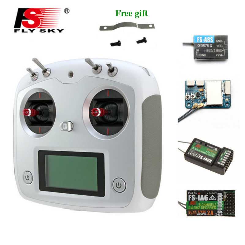 FLYSKY FS i6S i6S 2 4G 10CH AFHDS 2A Centering Throttle Transmitter with iA6B A8S iA10B