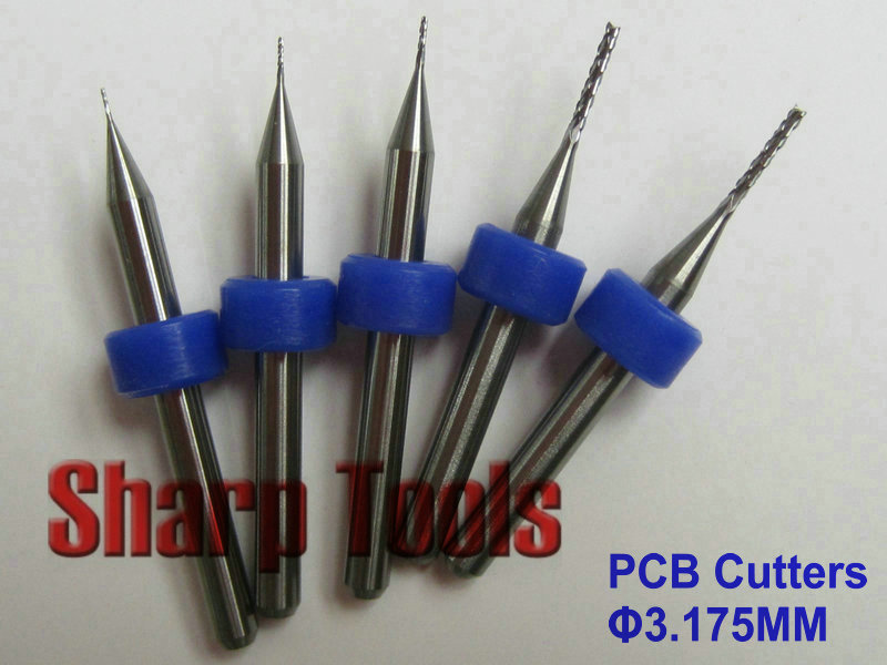 Flight Tracker 6 Pcs Mini Drill Bit Round Shank 3.175 Mm Cutting Tools Rotary Tool For Woodworking Knife Wood Carving Cnc Engraving Tools Hand & Power Tool Accessories