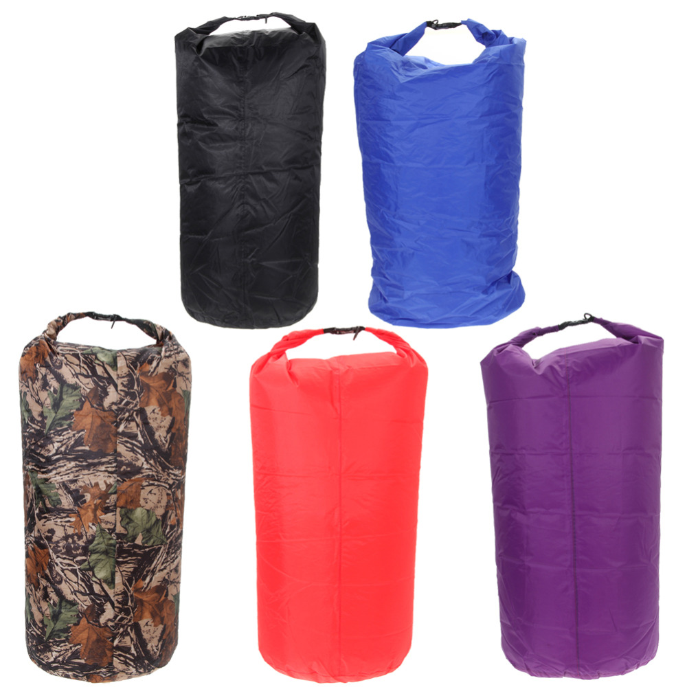 75L Portable Waterproof Bag Dry Bag Storage Swimming Sport Bags Canoe Boating Handbags Camping Kayak Rafting Outdoor Sports Bag